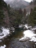 雪の三段峡