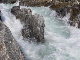 ウサガワラの滝?