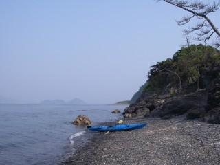 小水無瀬島からルートを振り返る