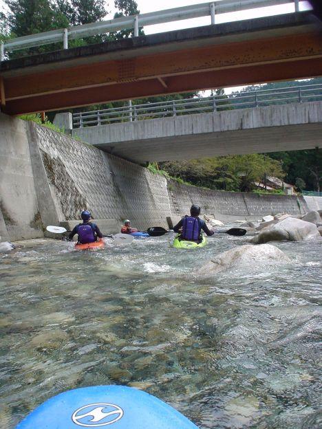 深谷川からスタート