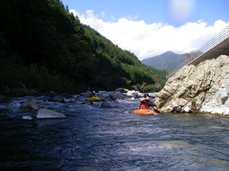 川はそのまま