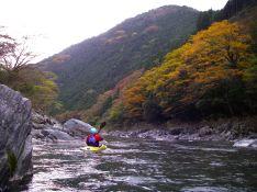 紅葉の錦川