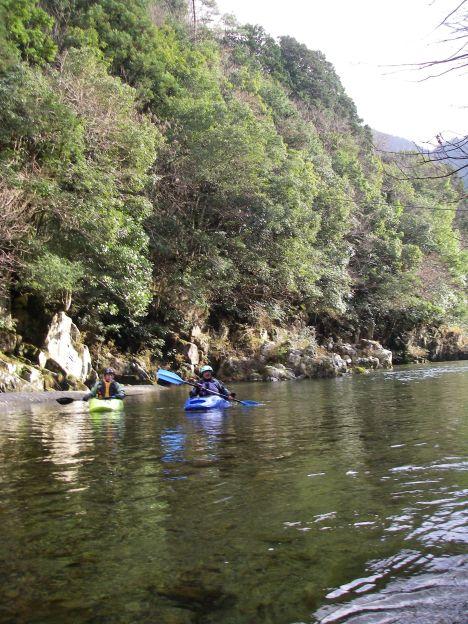 12月の川