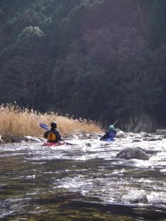 2007初漕ぎはグリーンラグーン!