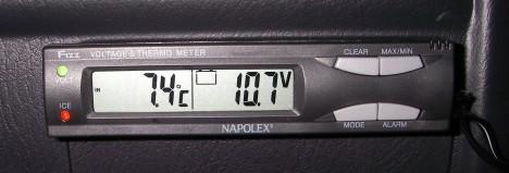 NAPOLEX Fizz 732 V.T.メーター