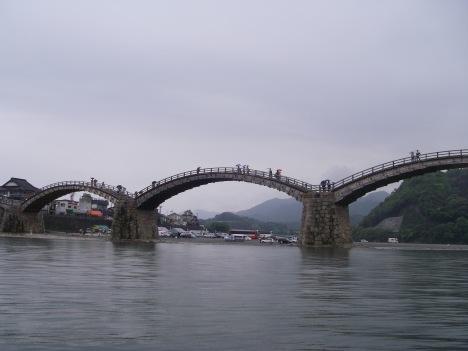 いよいよ錦帯橋