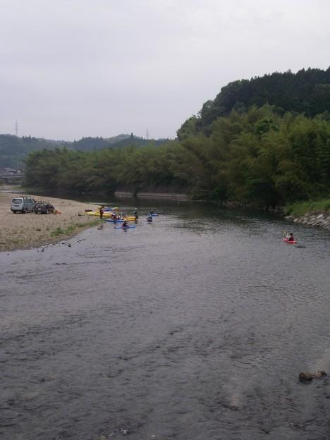 ちょっと浅めの島田川