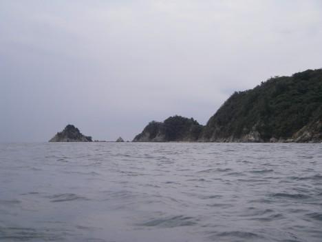 岬が見えた