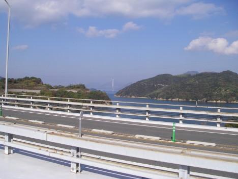 大三島橋から多々羅大橋