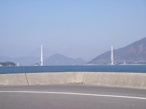 大三島から多々羅大橋