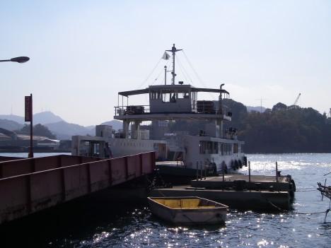前後対称渡船