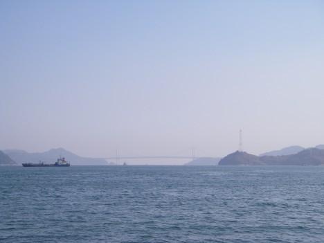 因島大橋遠景