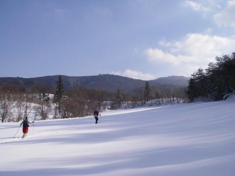再び雪原へ