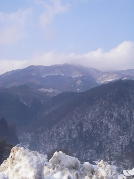 竜王山遠望