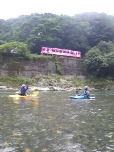 8/11 錦川 根笠練習+発電所~南桑