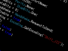 .NETのSerialPortクラスで日本語が取得できない件