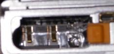 電池端子と船折瀬戸と