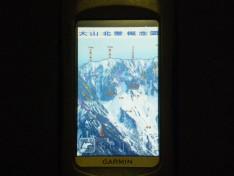 Garmin Oregonに登山概念図を入れてみた