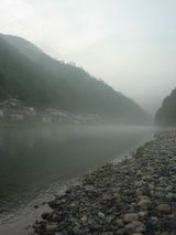 2005/07/17 錦川の朝霧