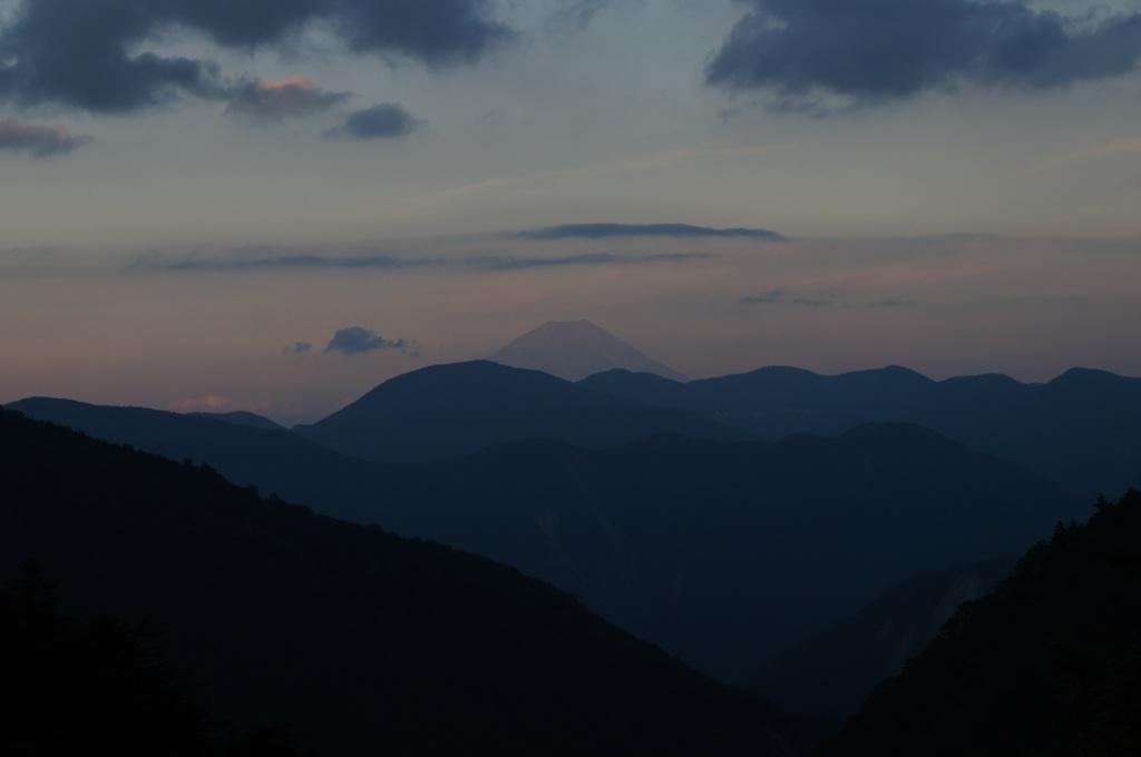 ラスト富士山