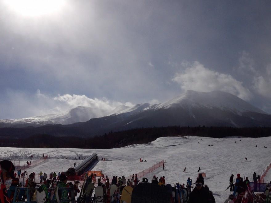 ボトムから御嶽山