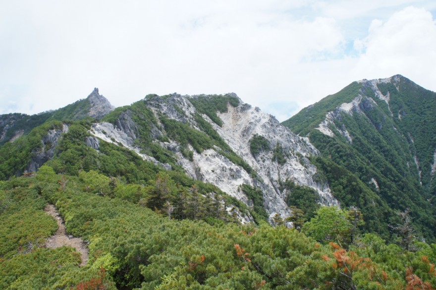 地蔵ヶ岳・観音岳
