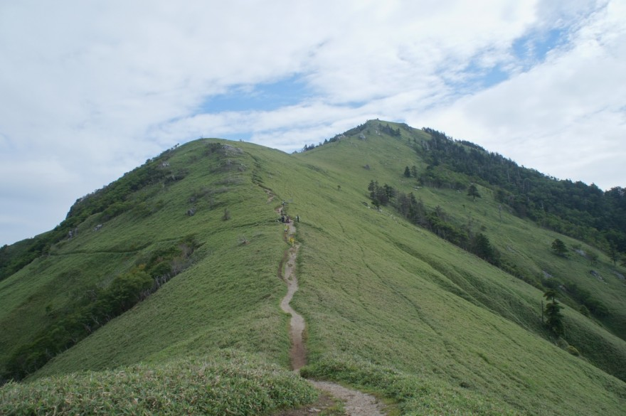 次郎笈峠から剣山