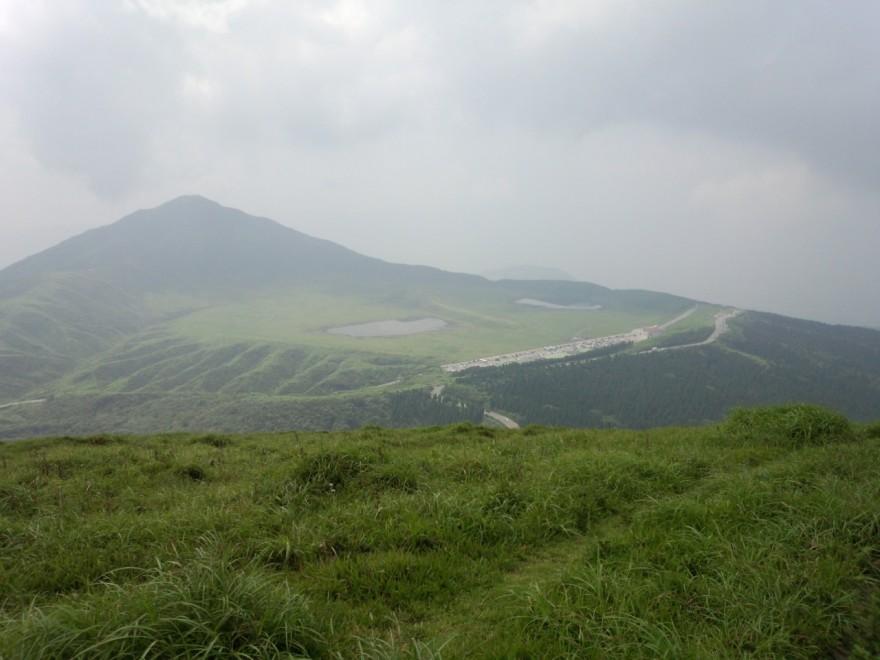 杵島岳から草千里ヶ浜・烏帽子岳