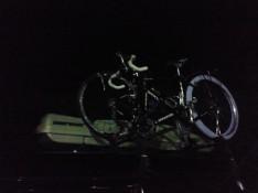 自転車運搬・・・